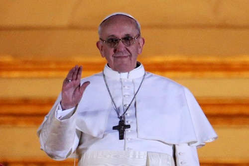 Pope Francis, the new Pontiff, the Bishop of Rome, the Successor to the Petrine Ministry!